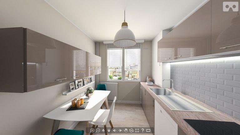 Rénovation d'une cuisine à Juvisy-sur-Orge, Essonne