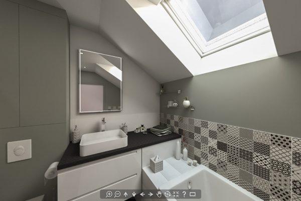 Rénovation d'une salle de bain à Juvisy-sur-Orge, Essonne
