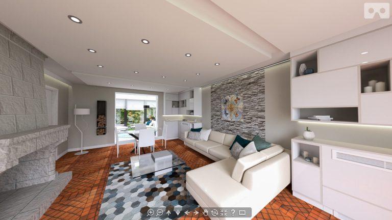Modernisation d'un séjour à Draveil, Essonne