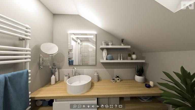 Création d'une salle de bain à Villeneuve-le-Roi, Val-de-Marne